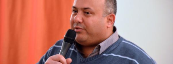 Lezing Ibrahim Issa – leider Hope Flowers School te Bethlehem